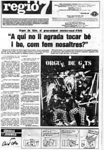 TEMPORADA 1985 - REGIÓ 7 Article Quirze Grifell