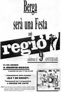 1988 - REGIÓ 7Pàgina Publicitat